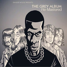 "DANGER MOUSE "" THE GREY ALBUM LP "" ** GREY MARBLED VINYL RE-ISSUE REMASTERED"