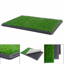 Puppy Potty Patch Pet Trainer Indoor Training Pet Dog Grass Pad Pee Mat Turf