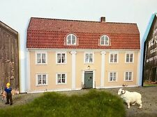 "*O Scale Scratch Built ""The Farm House"" Country Building Front/Flat, MTH Lionel"