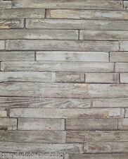 Tapete altes Holz verwitterte Bretter Holzoptik braun grau Vintage 05545-10