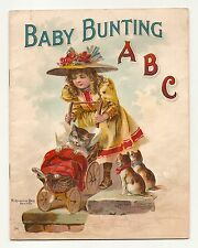 BABY BUNTING ABC 1899 McLOUGHLIN BROS. #36 ILLUSTRATED VICTORIAN RARE