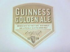 GUINNESS GOLDEN ALE - Beermat / Coaster  - 2 sided