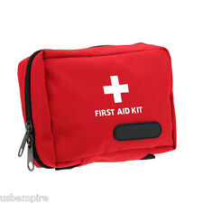 Emergency Medical Empty Bag First Aid Pack Survival Outdoor Rescue Kit Red Color