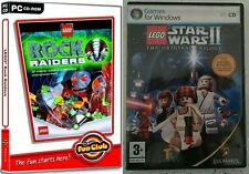 lego star wars 2 the original trilogy & lego rock raiders    new&sealed