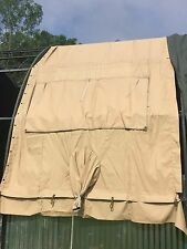 Temper Tent Window Center Section Temperate Desert Tan Vinyl Tarp NOS