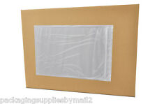 "Clear Packing List Envelope 7"" x 10"" Plain Face Self Adhesive 5000"