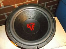 "OLD SCHOOL ROCKFORD FOSGATE RFS-1410 SUB!! RARE 10"" USA SUBWOOFER- DISPLAY MODEL"