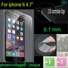 Rea 2.5D Ultra Thin 0.1mm Tempered Glass Screen Protector Film For iPhone 6 4.7""