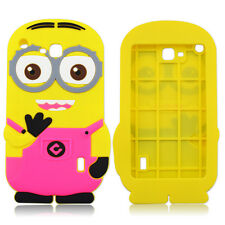 Kids 3D Cute Minions Cartoon Soft Silicone Cover Case For Universal 7inch Tablet
