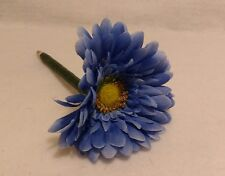 Flower Pen-- Blue Daisy---Handcrafted-NEW-black ink