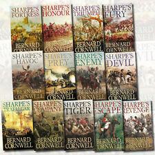 Bernard Cornwell Sharpe's Battle War Fiction Collection 13 Books Set,Prey New US
