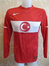 Turkey national team 2010/2011 home PLAYER ISSUE Size M Nike shirt maglia jersey