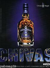 Publicité advertising 2007 Scotch Whisky Chivas Regal 18 Years