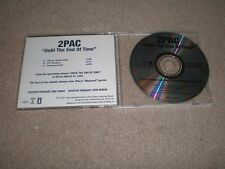 2PAC CD Until The End Of Time USA DJ ADVANCE 3 TRACKS 2 PAC