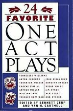 24 Favorite One Act Plays (1963, Paperback)