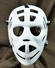 Vintage Style Fiberglass goalie mask replica Al Smith WHA NHL RARE
