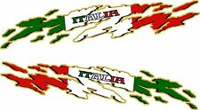 ITALY FLAG Racing Boat Car Truck Trailer Graphics Decals Stickers Wrap 2- 50""