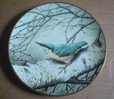 Wedgwood NUTHATCH Collectors Plate RSPB Centenary Collection