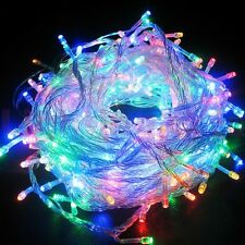 2X 100 LED string light 10M Brand New Party Multi Colour Christmas Diwali Bright