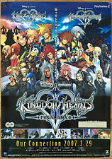 Kingdom Hearts Final Mix + RARE PS2 51.5 cm x 73 cm Japanese Promo Poster #2