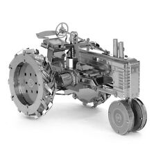 3D Stainless Steel Metallic Building Tractor Model Puzzle Educational Toy