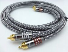 Tributaries Series 9 RCA Audio Interconnect Cables 2 meter NS-9A-020B