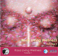Rasa Living Wellness, Vol. 1 2008 by Deepak Chopra & Donna D'Cruz EXLIBRARY
