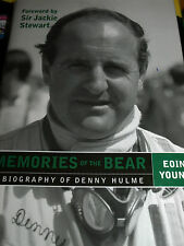 DENNY HULME MEMORIES OF THE BEAR BRABHAM BT24 MACLAREN M8A M19C M16A M14A CAN AM