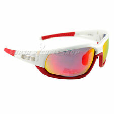 BBB ADAPT BSG-45 Cycling Sport Sunglass , White x Red