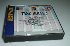 TANZ HOUSE 3 / 2 CD'S MIT DNA - KELLY MARIE - BASS BUMPERS - AFTER ONE - STAX ..