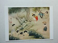 Women on Tano Day:  Ink & Light Colors on Paper, Sin Yun-bok, circa 1800