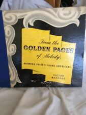 From The Golden Pages Of Melody Raymond Paige's Young Americans Vintage Records