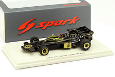 Emerson FITTIPALDI LOTUS 72d #5 Weltmeister SPAGNA GP Formula 1 1972 1:43 SPARK