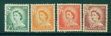 [JSC]1953 New Zealand Queen Elizabeth II Issue Stamps