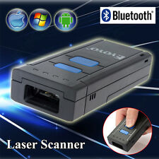 Wireless Laser Cordless Bluetooth Barcode Mini Scanner Bar Code Gun POS Handheld