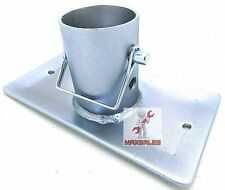 "RV Trailer Tongue Jack Foot 3-1/2"" Stand Foot 2,000 Ibs Zinc Plated"