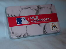 Miami Marlins  MLB TEAM DOMINOES Double Six Domino Set   NEW in GIFT TIN BOX