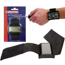 Duratool Handy Wrist Band Strap Magnet Magnetic Wristband For Tools Screws Bolts