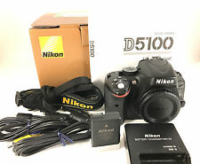 Nikon D D5100 16.2 MP Digital SLR Camera - Black (Body Only)