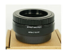 M42 TO FX focal reducer speed booster F/ FUJI FX mount Xpro 1 X-E1 X-M1 X-E2