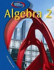 Algebra 2 by McGraw-Hill Staff (2002, Hardcover, Student Edition of Textbook)
