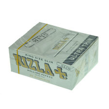 Genuine UK Stock - Silver 50 King Size Rizla Ultra Thin Cigarette Slim Paper Box