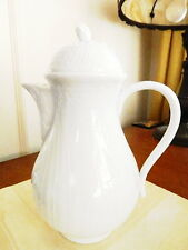 Rosenthal Germany ST. PETERSBURG Blanc de Chine Coffee Pot Porcelain - NEW!