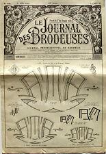 Le Journal des Brodeuses n°832 - 1964 - Ecussons pour bavoir - Nappes -