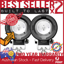 2 x CREE LED MOTORBIKE DRIVING LIGHT SPOT  TOURING ADVENTURE BMW TRIUMPH SUZUKI