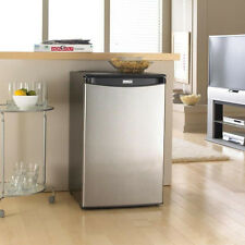 NEW Danby 4.4 cu ft Small Compact Mini Refrigerator Fridge Stainless Steel Dorm