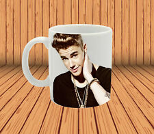 Justin Bieber for coffee / hot tea mug cup christmas gift