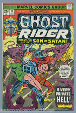 Ghost Rider #17 1976 Son of Satan Tony Isabella Frank Robbins Marvel Comics m
