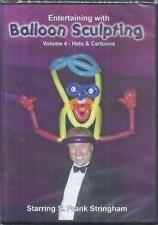 DVD:  ENTERTAINING WITH BALLOON SCULPTING VOLUME 4......WILL ROYA .......NEW