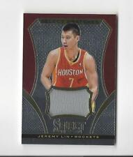 2013-14 Select Swatches #60 Jeremy Lin JERSEY Rockets